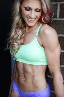 Tessa-Rae Nedelec CBBF Competitor