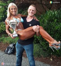 Jenna Marie CBBF Competitor