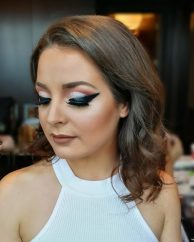James Bond themed Event Makeup